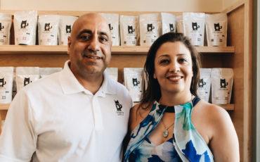 cafenated-coffee-founders-Mak-and-Parisa-Jamasbi