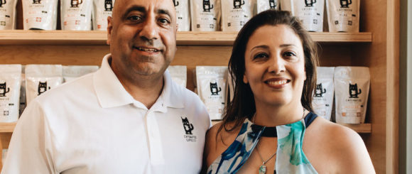 cafenated-coffee-founders-Mak-and-Parisa-Jamasbi