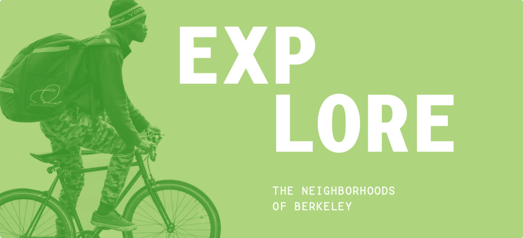 Explore the neighborhoods of  Berkeley