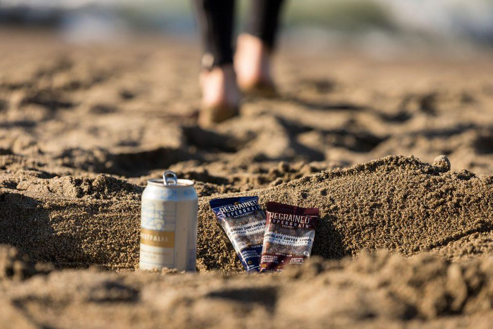 San Francisco-based ReGrained turns a beer brewing byproduct into snack bars. PHOTO: REGRAINED