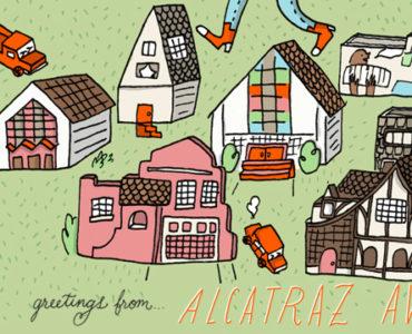 map alcatraz ave